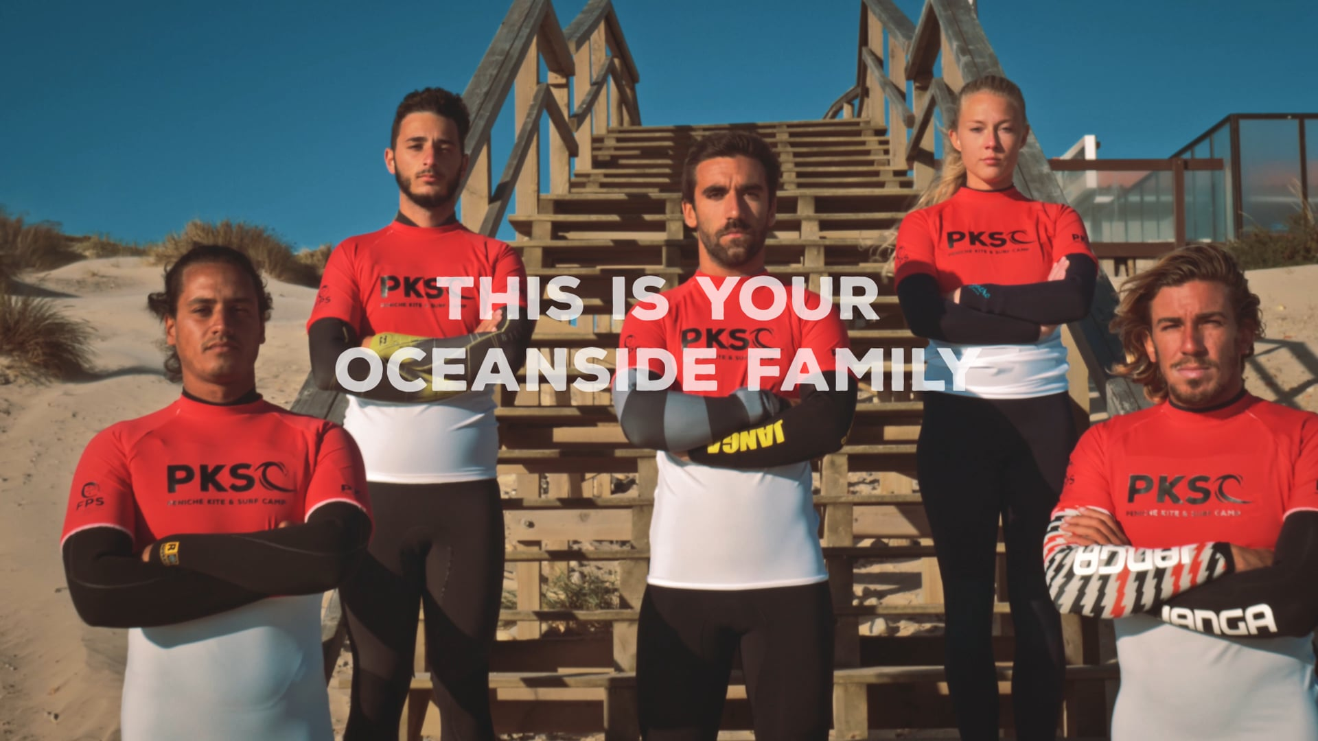 This is your oceanside family || PKSC Surf Camp