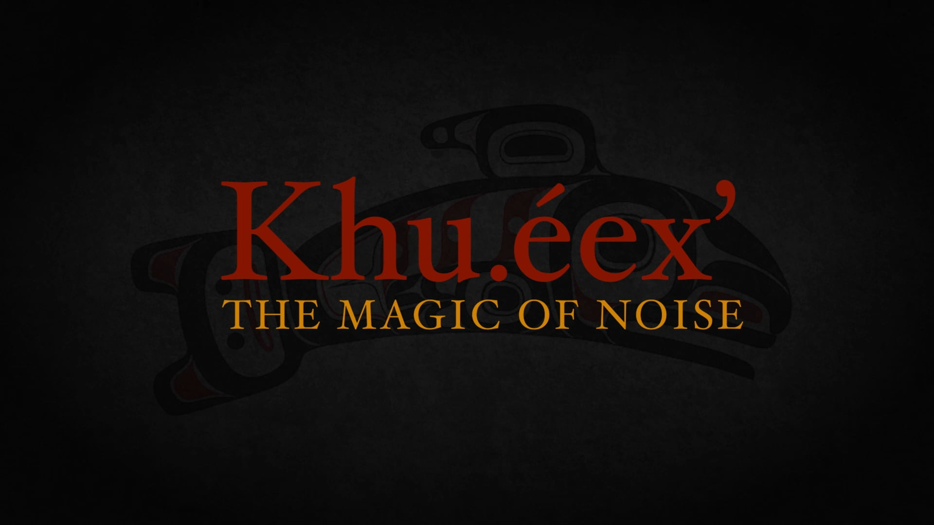 Khu.éex': The Magic of Noise