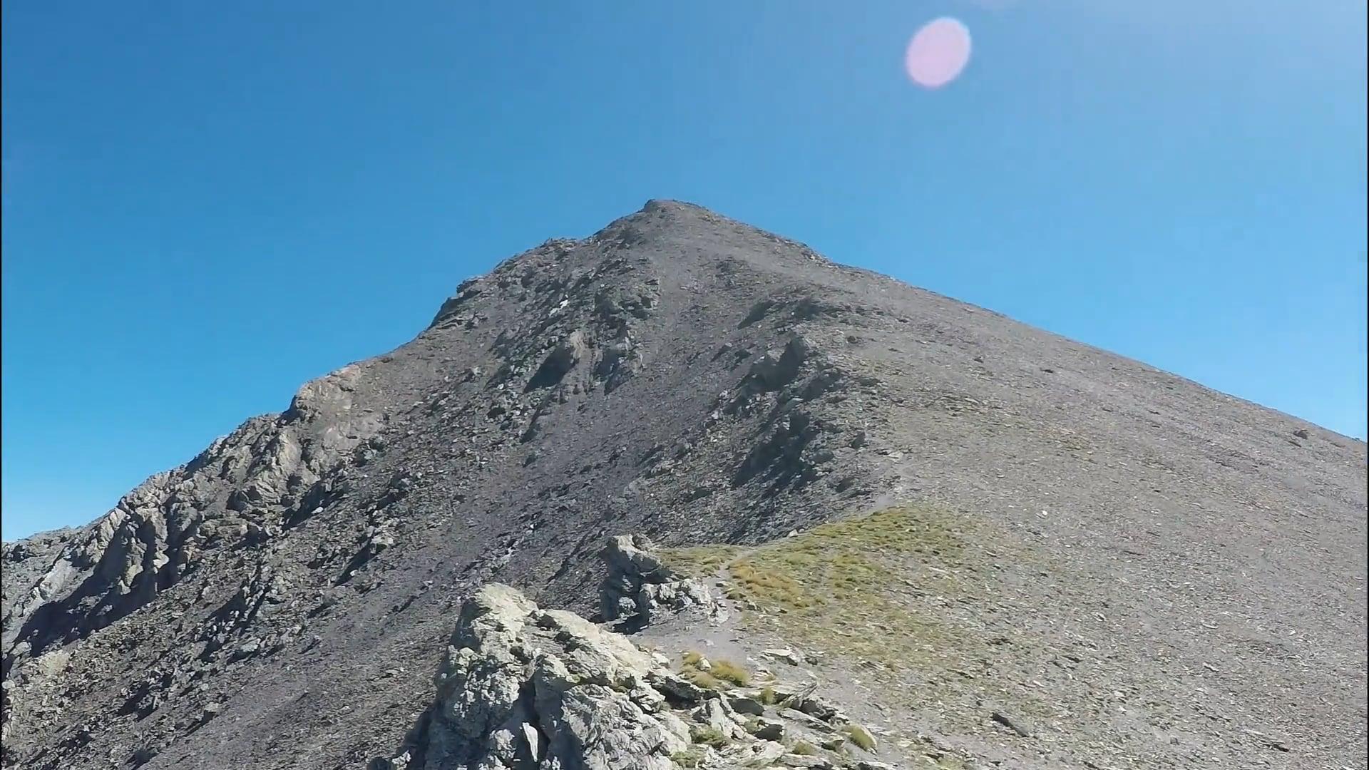 Salita al monte Rognosa di Sestriere - estate 2017