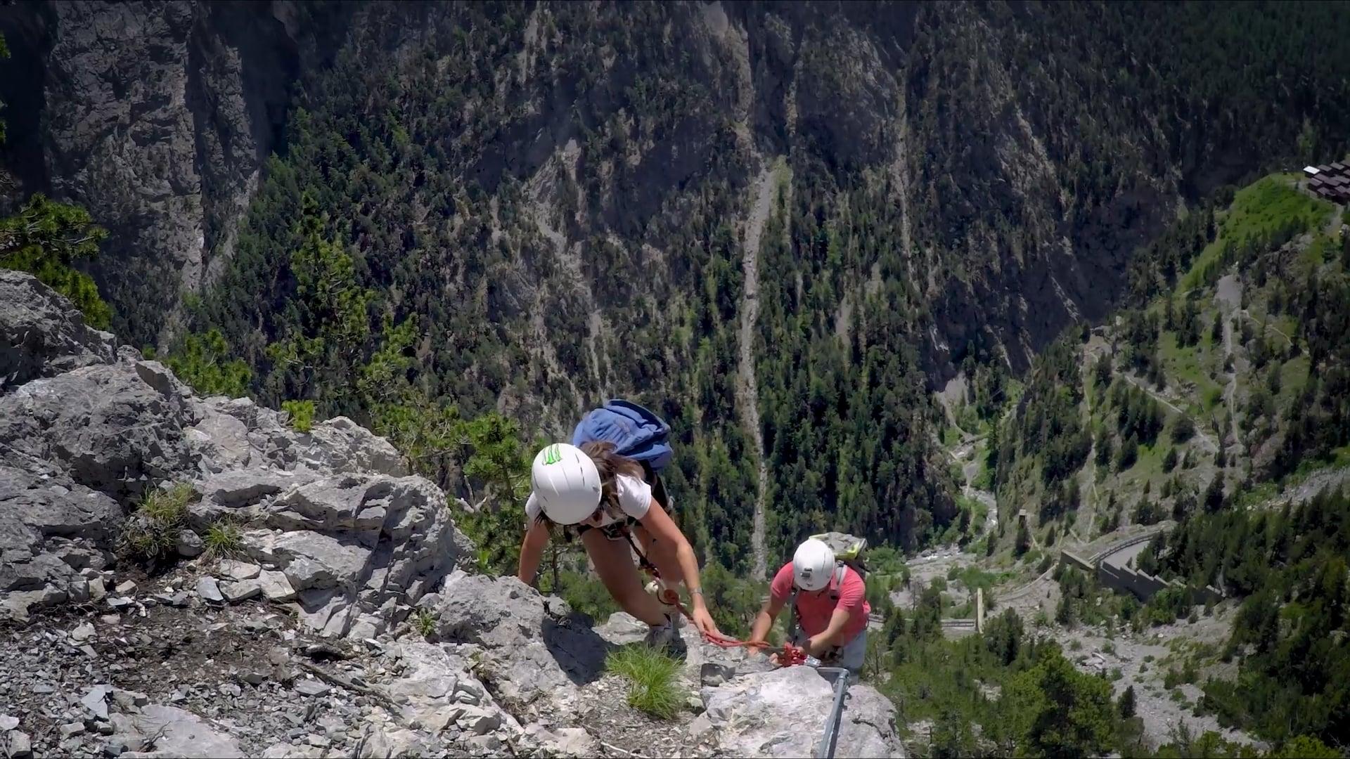 Ferrata del monte Chaberton