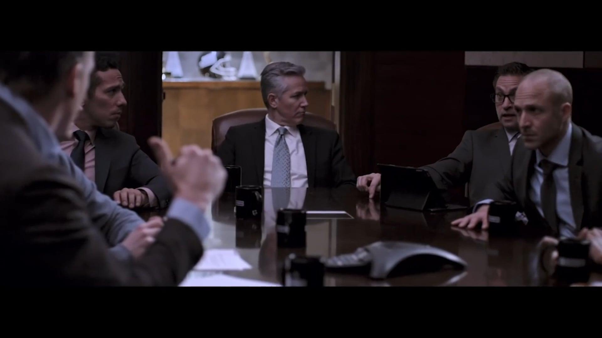 Glenn Thayer, John Malkovich, and Peyton Manning for Super Bowl LIII
