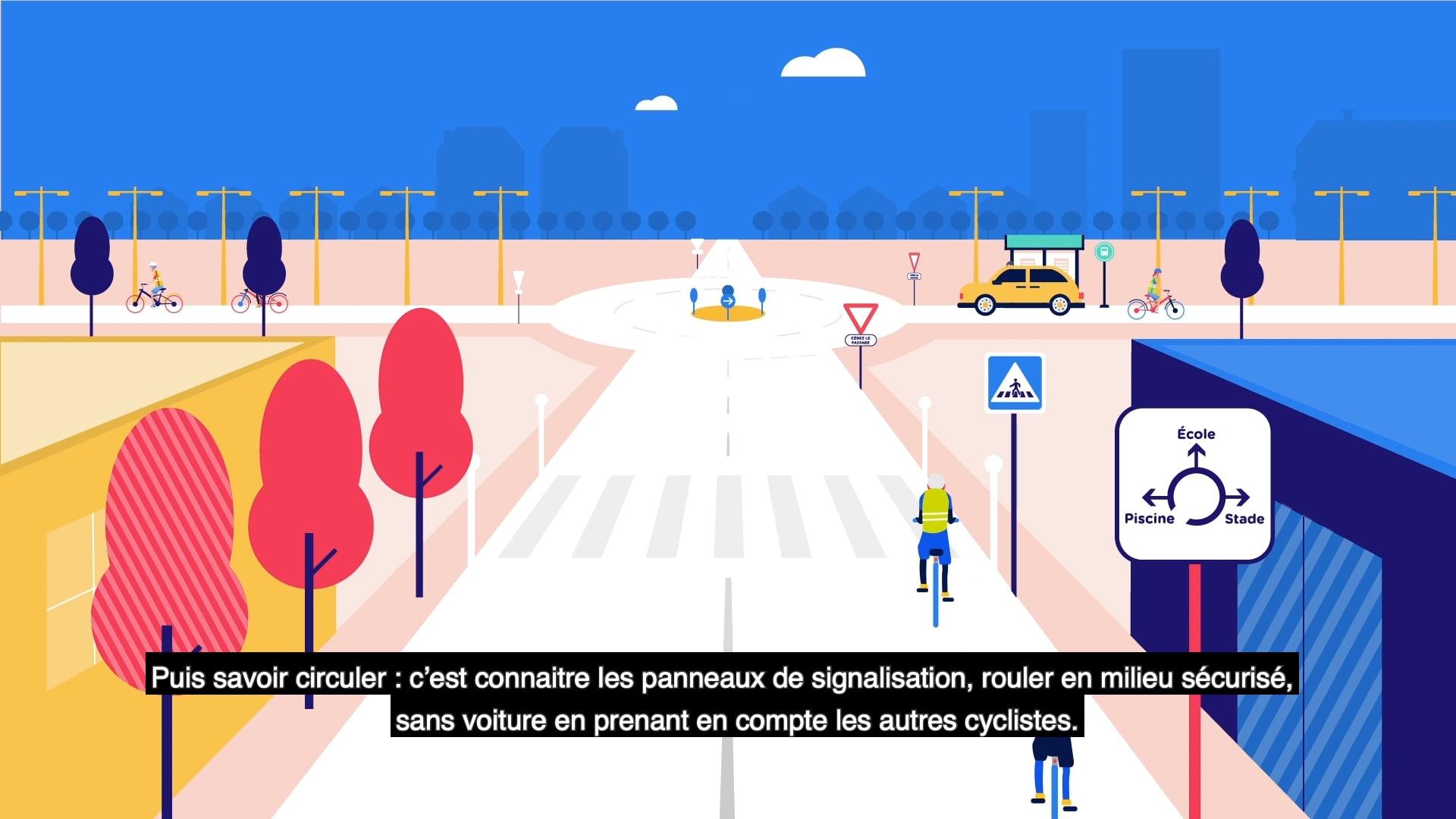 """Présentation du programe """"Savoir rouler à vélo"""""""