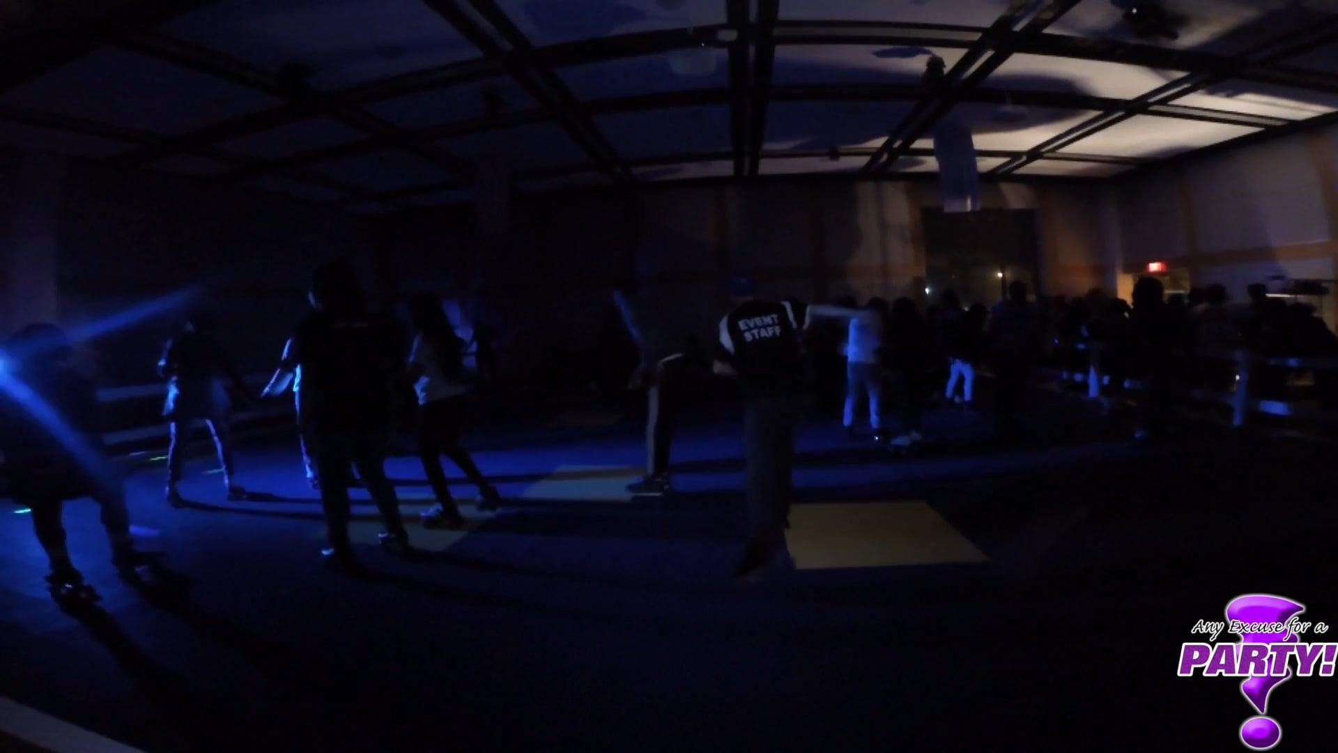 Black Light Roller Skating