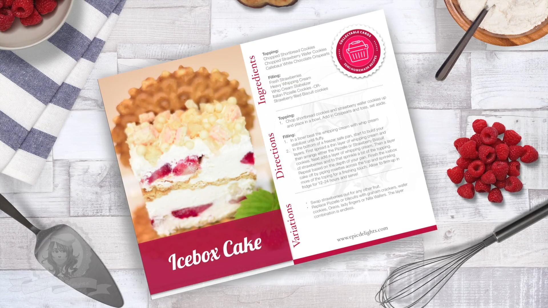 Free Video: Make a No-Bake Icebox Cake