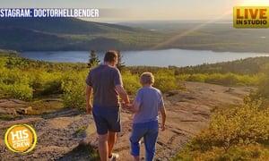 Loving Grandson Helps Grandma Joy See the World
