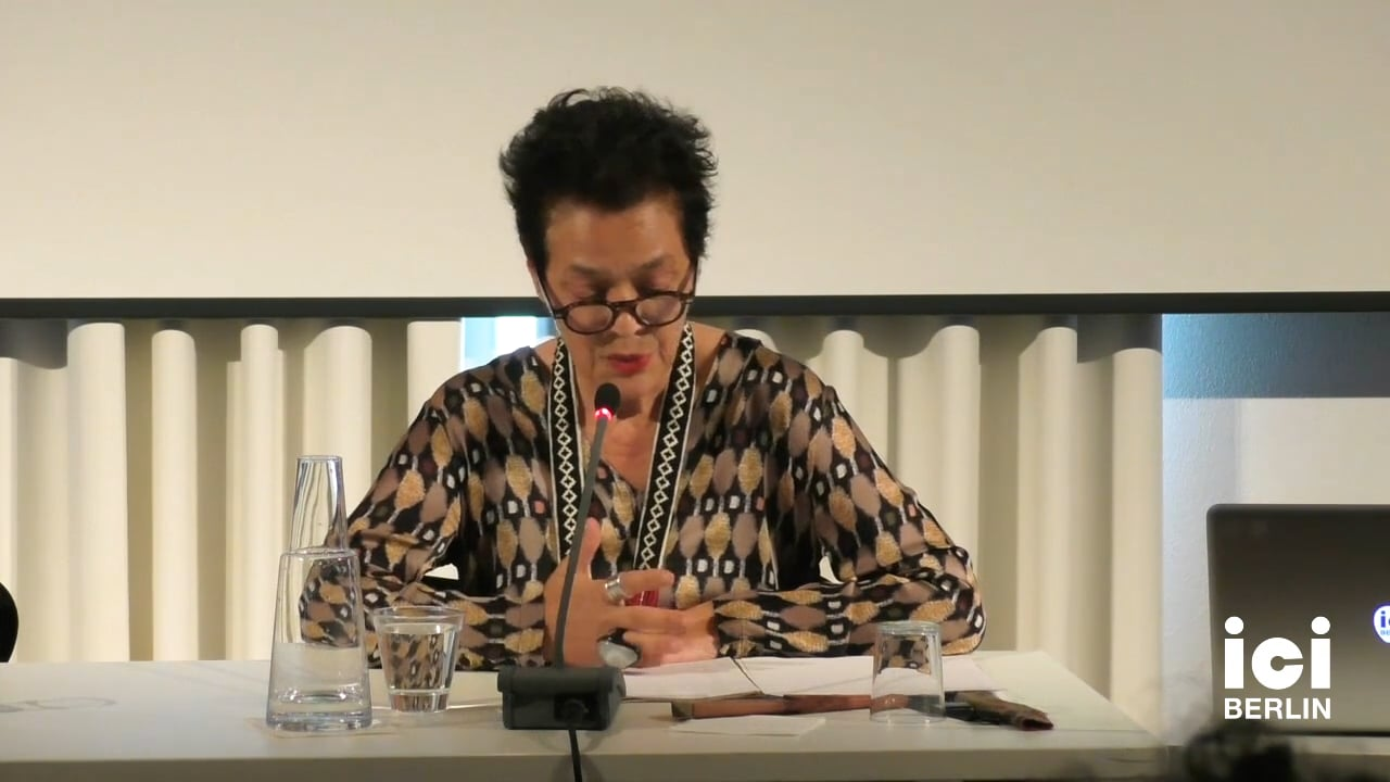 Talk by Françoise Vergès