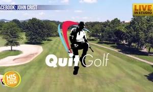 Comedian John Crist Unveils Revolutionary Product: Quit Golf