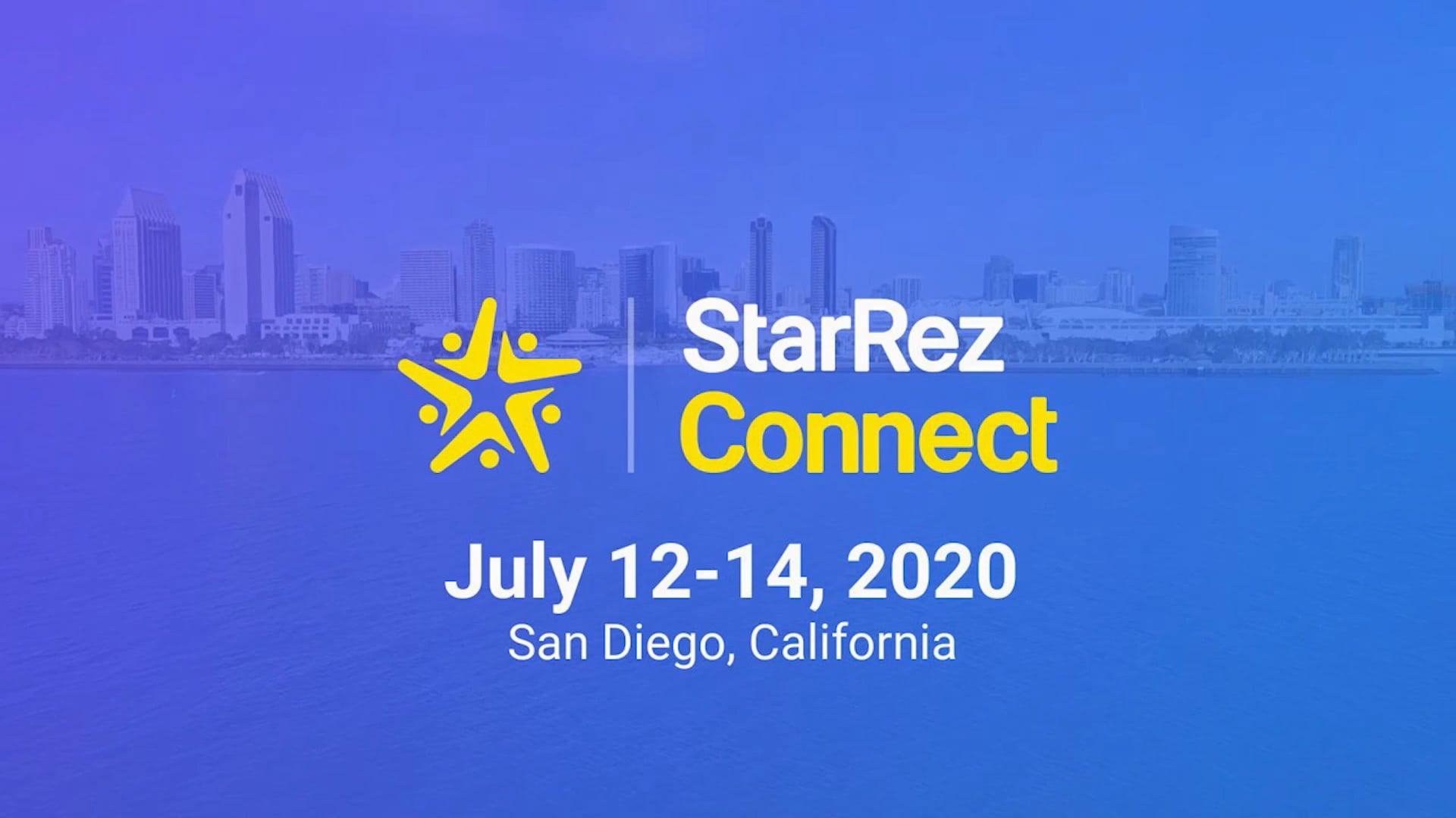 StarRez Connect 2020 Promo