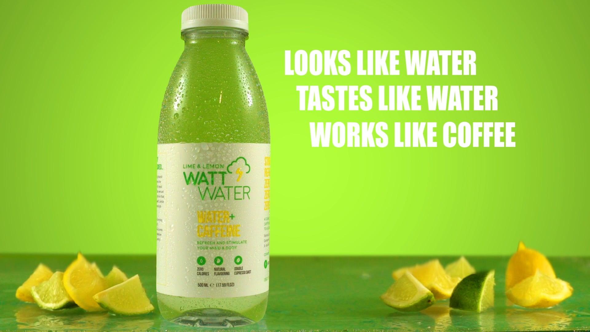 Watt Water - Lemon and Lime Ad
