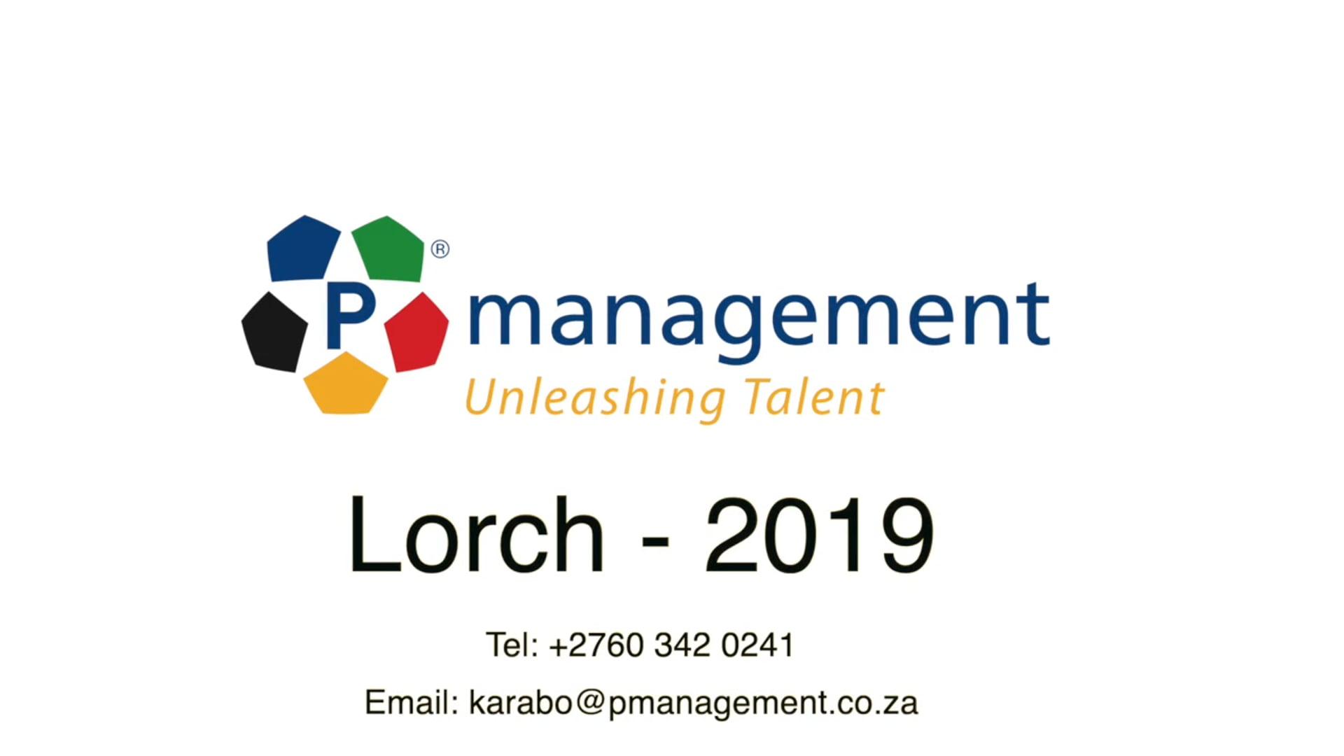 Lorch - PManagement