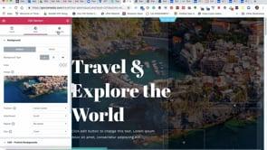 Travel Site Tutorials Teaching Elementor
