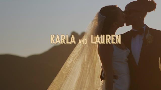Karla and Lauren