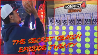 Juice & Klarissa Play Connect 4 Basketball! Hilarious Ending! - (The Secret Season Ep.20)