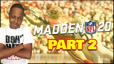 More Madden 20, Playing Games With Ninjas PART 2 (Stream Replay)