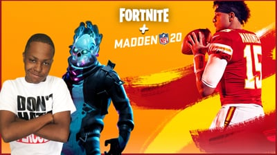 Playing Some Fortnite & Madden 20 (PART 1)