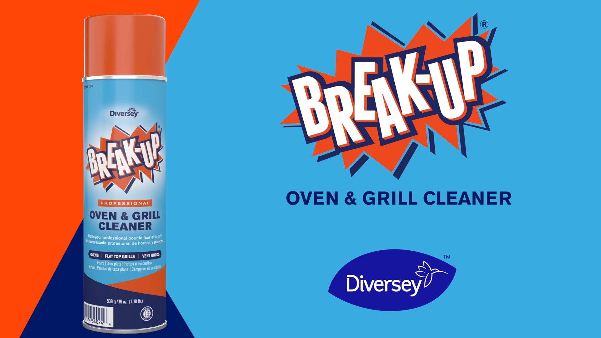 Break Up | Professional Oven & Grill Cleaner | Diversey Brands