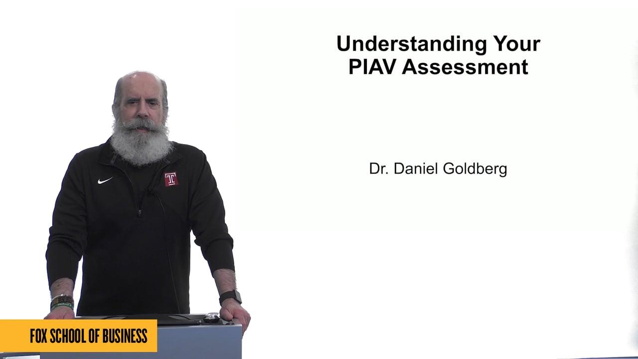 61535Understanding Your PIAV Assessment