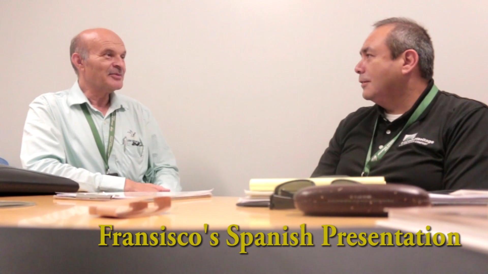 Fransisco's Spanish Presentation