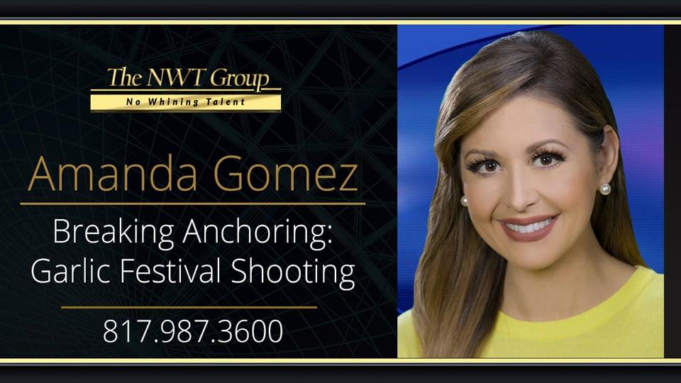 Breaking Anchoring: Garlic Festival Shooting