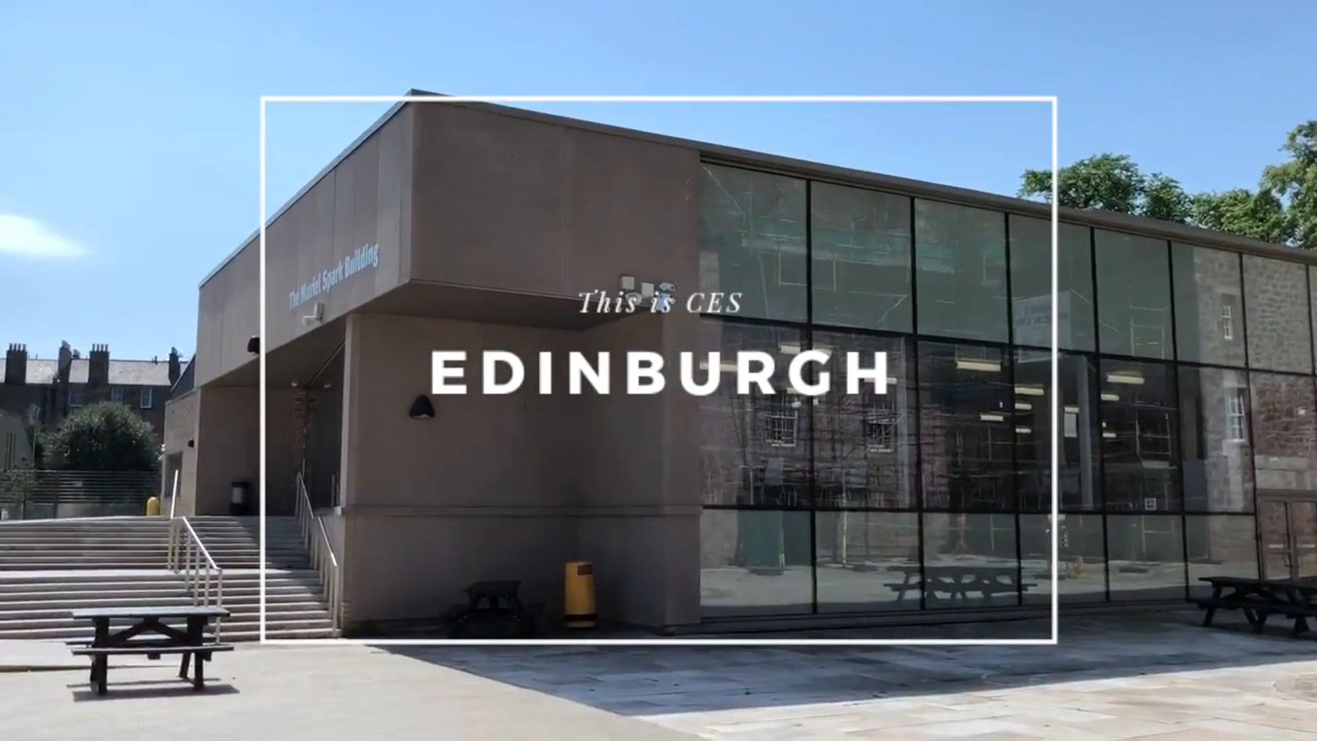 CES Edinburgh Summer School