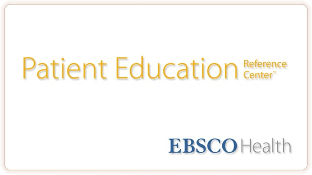 Patient Education Reference Center - Tutorial