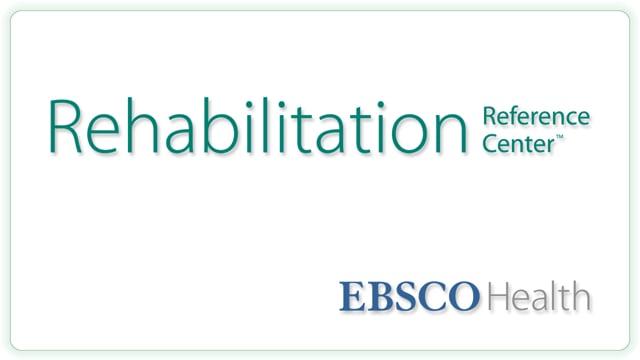 Rehabilitation Reference Center - Tutorial