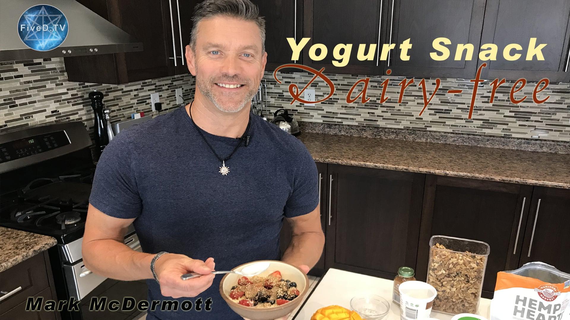 Dairy-free Yogurt Snack