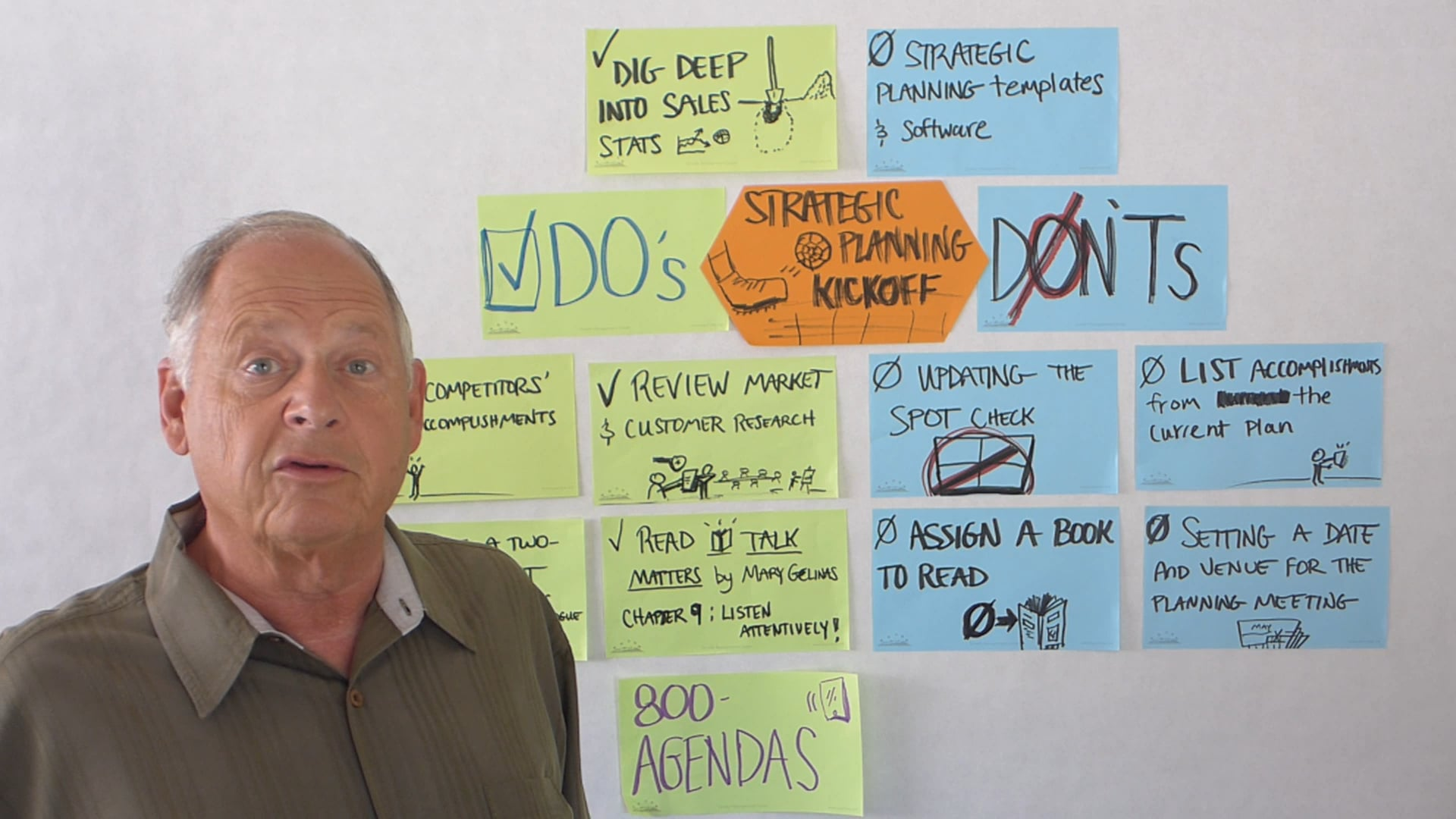 Strategic Planning Kickoff DO's and DONT's