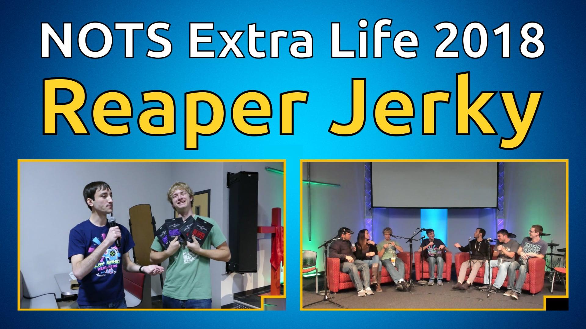 Carolina Reaper Jerky - NOTS Extra Life 2018