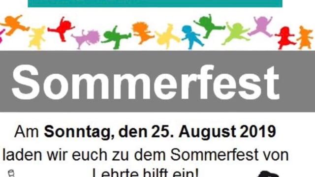 Sommerfest 2019 beim DRK OV Lehrte - Ansprache
