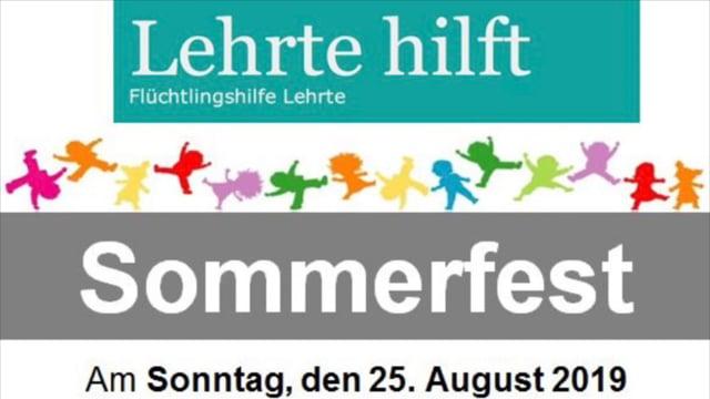 Sommerfest 2019 beim DRK OV Lehrte - feiern