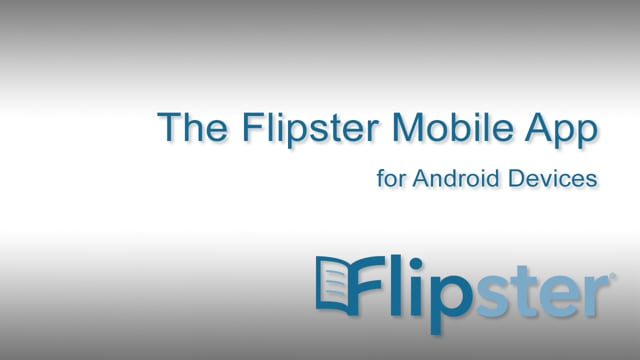 Flipster app for Android Devices and Kindle Fire Tablet - Tutorial