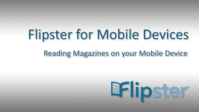 Flipster for Mobile Devices - Tutorial