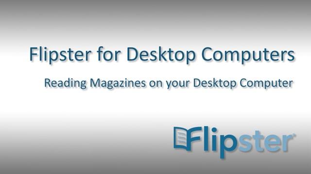 Flipster on Desktop Computers - Tutorial