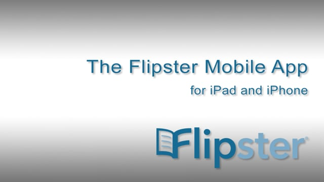 Flipster app for iPad and iPhone - Tutorial