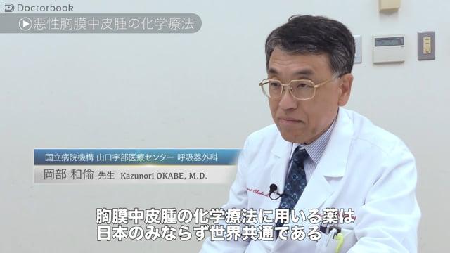 岡部 和倫先生:悪性胸膜中皮腫の治療法とは 化学療法や放射線療法の適用について