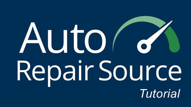 Auto Repair Source - Tutorial