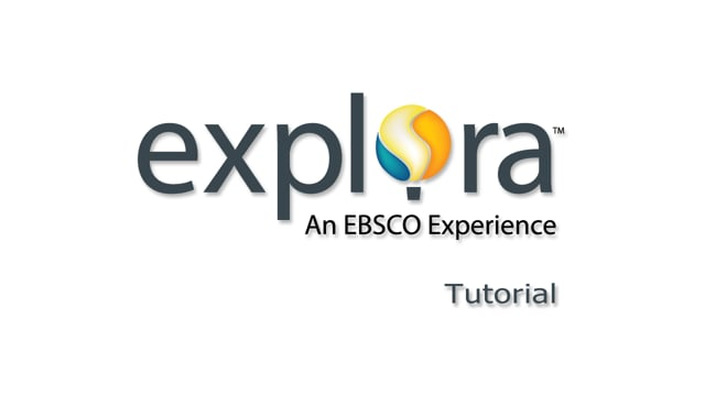 Explora for Middle and High School Users - Tutorial