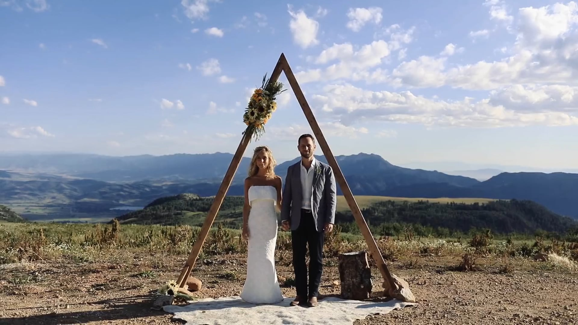 The Wedding of Hanna & Matt // Skylodge, UT