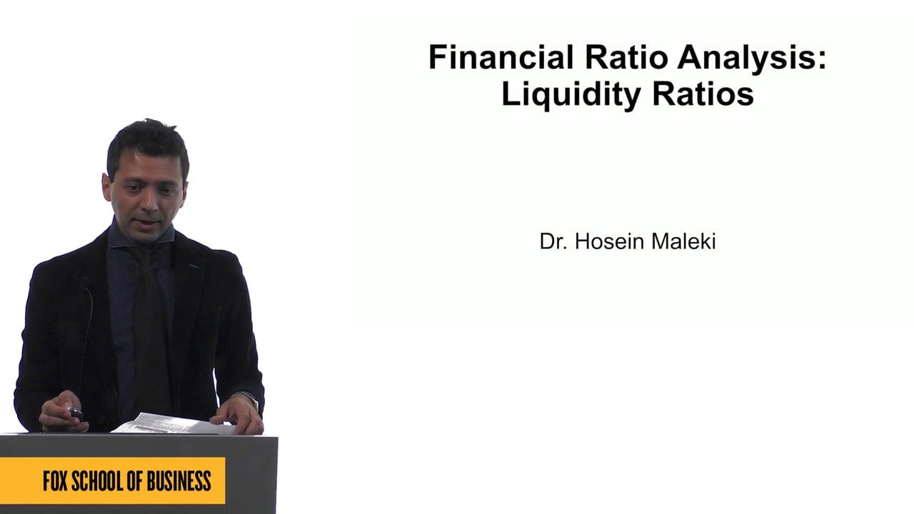 61556Financial Ratio Analysis: Liquidity