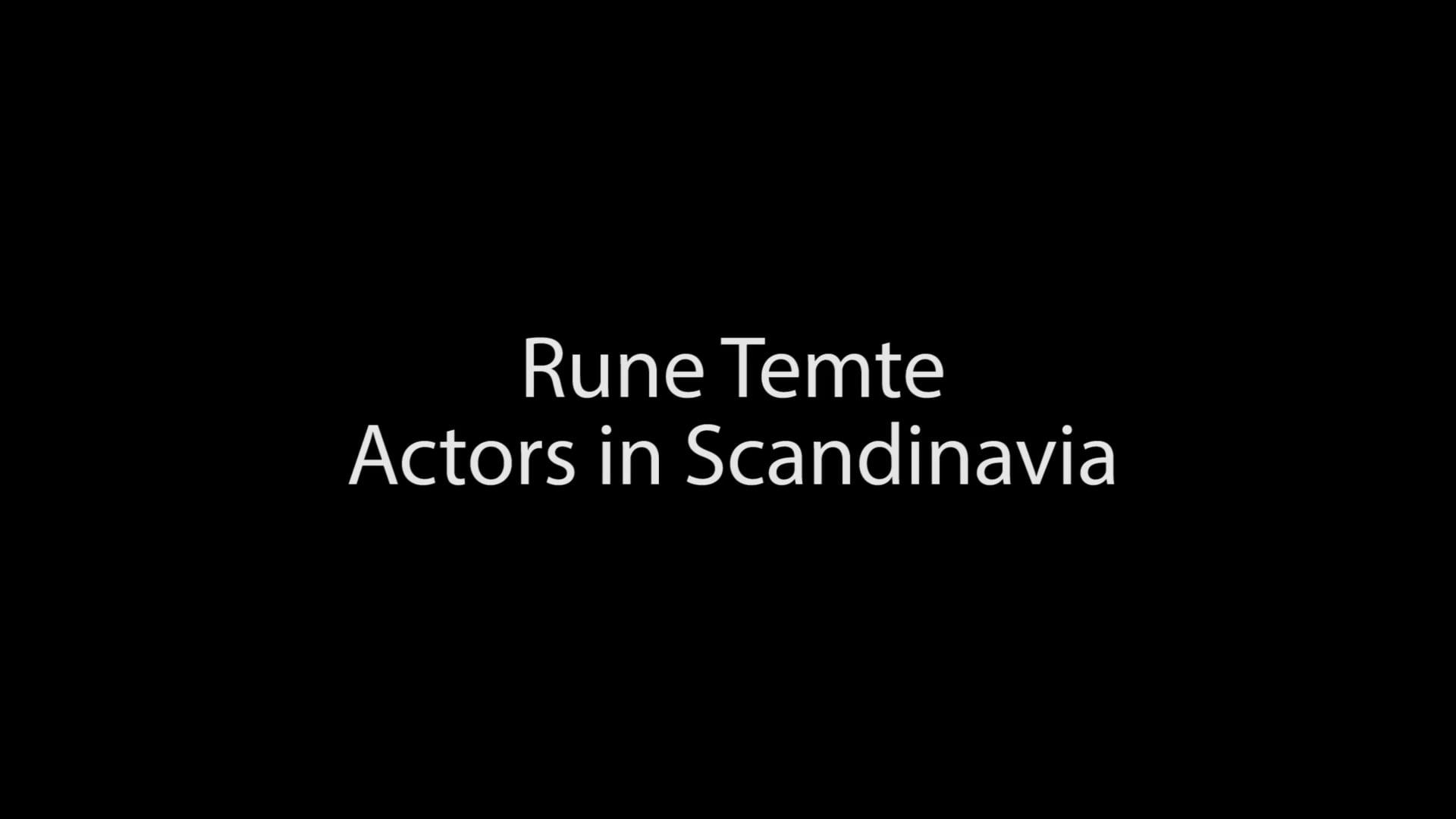 Rune Temte Showreel 2019. Duration 9 minutes.