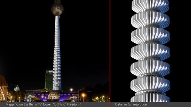 Berlin Festival of Lights. Tv-Tower. 2019