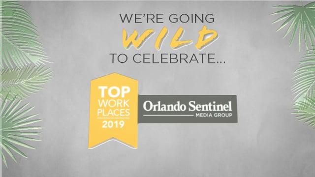 Orlando Sentinel Top Workplaces 2019