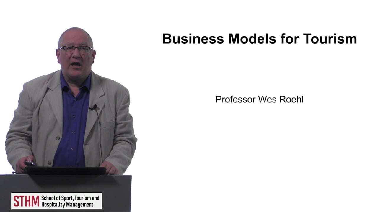 61563Business Models for Tourism