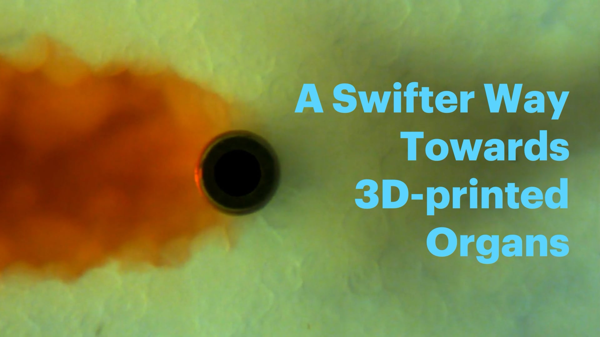 A Swifter Way Towards 3D-printed Organs