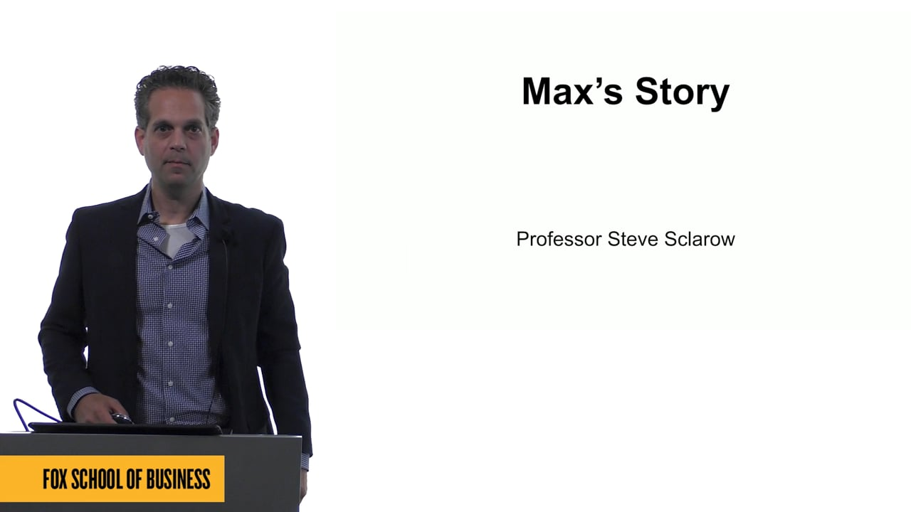 61568Max's Story
