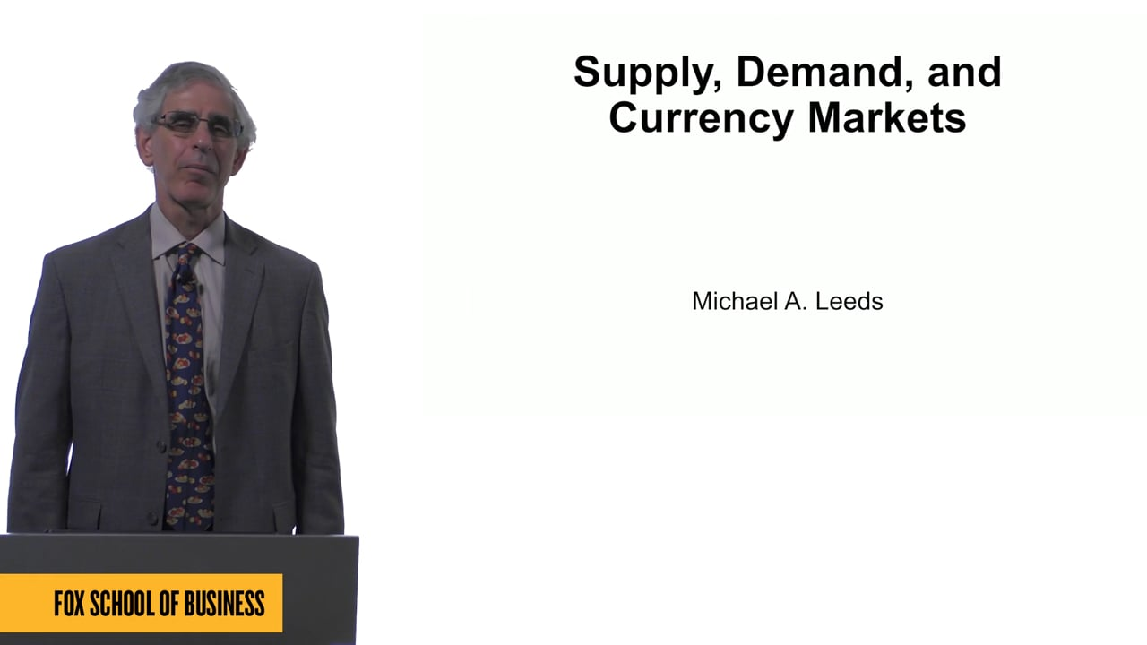 61570Supply, Demand and Currency Markets