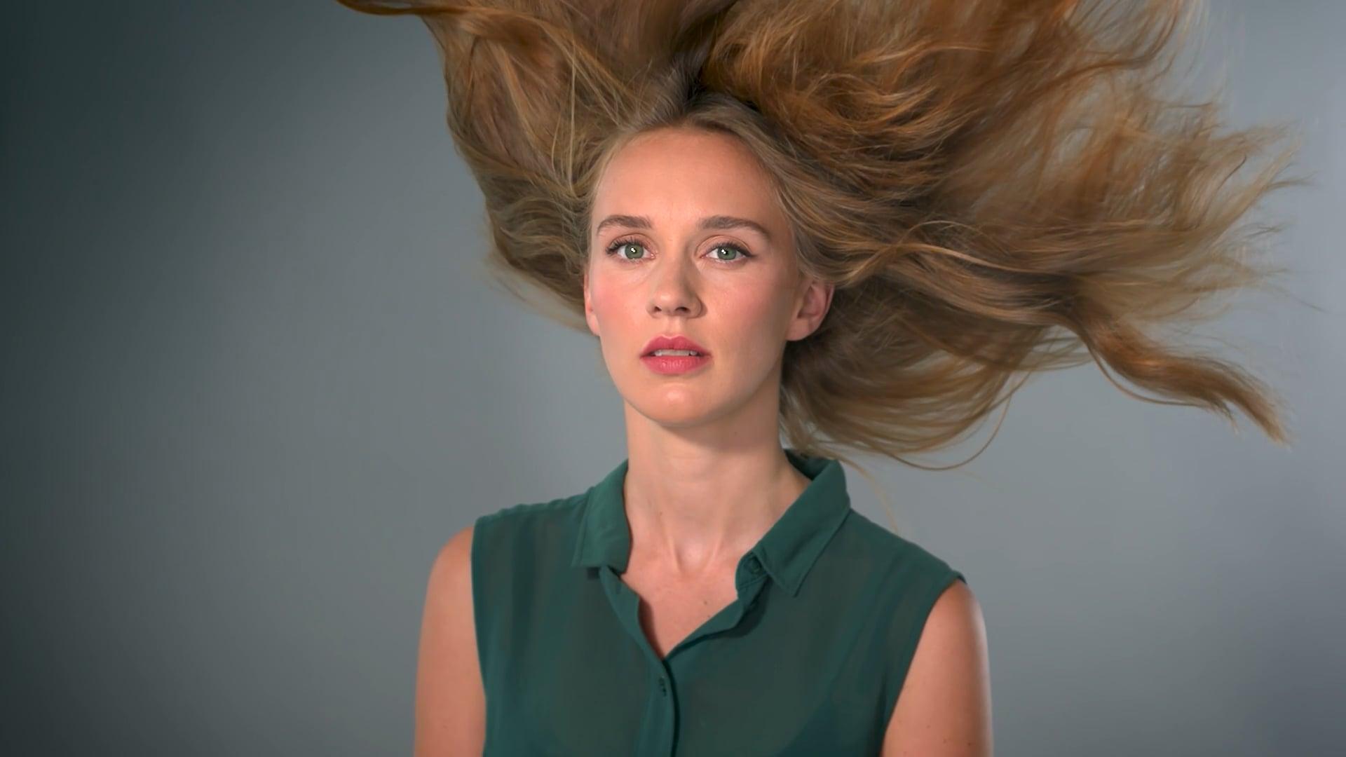 Ed Salkeld -Flaming Hair - test film