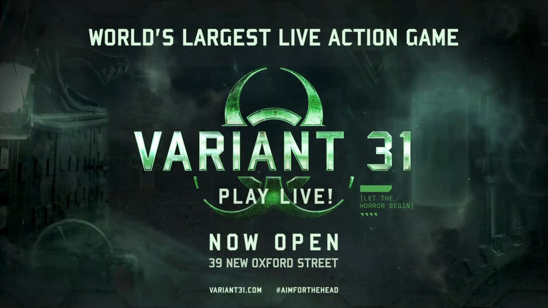 Variant 31: The Worlds's Largest Live Action Game (GAMEPLAY TEASER)