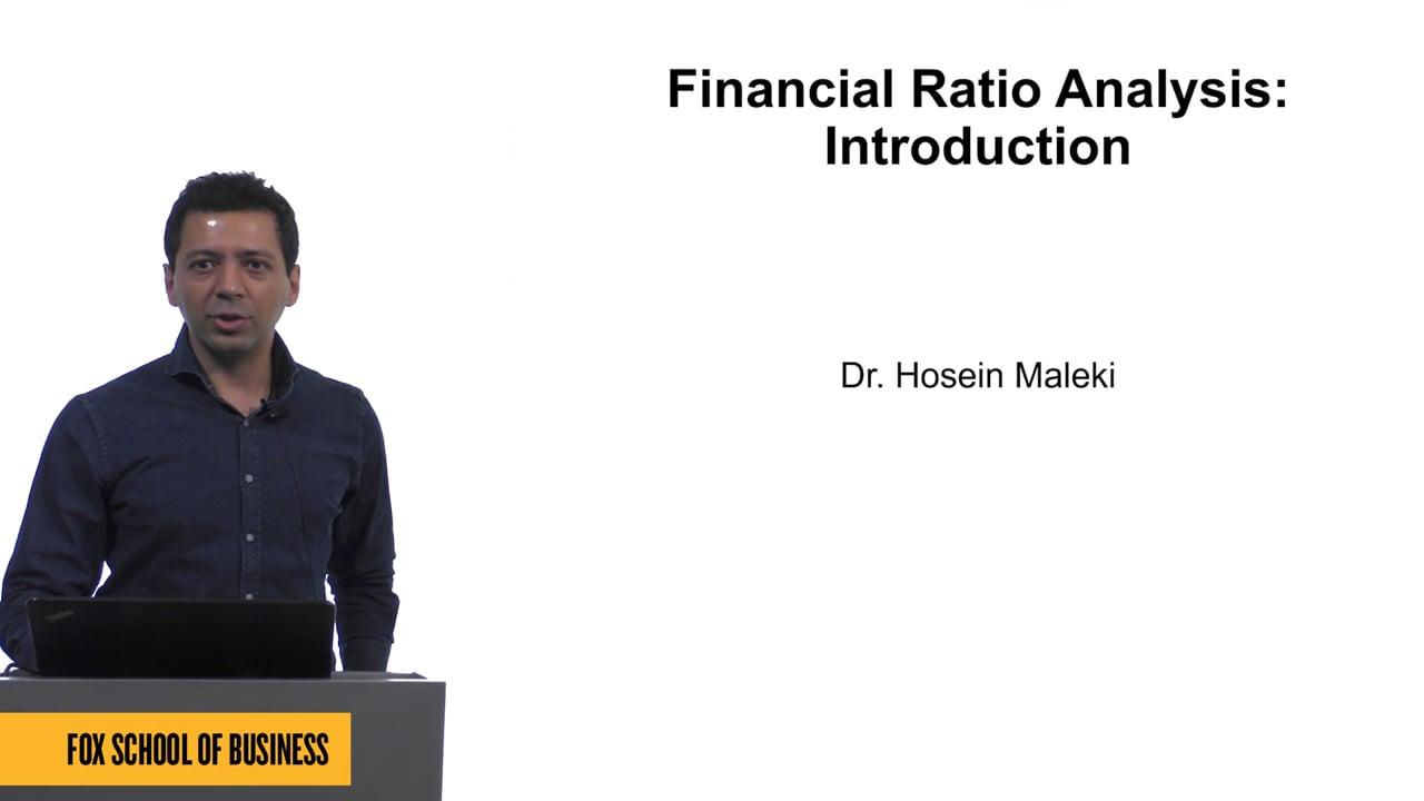 61576Financial Ratio Analysis: Introduction